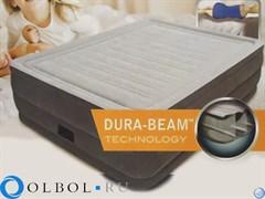 Кровать Comfort-Plush со встроенным насосом 220В (56см) Intex 64418
