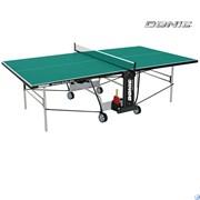 Всепогодный теннисный стол Donic Outdoor Roller 800 зеленый 230296-G