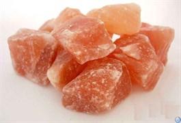 Соль розовая крупнокусковая каменная для животных (Иран)  50 кг