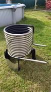 Проточный водонагреватель для бассейна Termopool BASIS Pro  18 (22-25)*кВт. (19м)