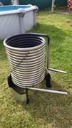 Проточный водонагреватель для бассейна Termopool BASIS Pro 28 (32-35)*кВт( 25м )