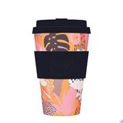 Кофейный эко-стакан 400 мл Цунами