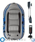 Лодка надувная 3-х местная Excursion 300 Set Intex 68319