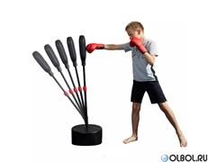 Набор груша боксерская напольная + перчатки Outshock