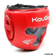 Шлем тренировочный KouGar KO210, красный