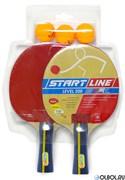Набор для н/т Start Line LEVEL 200 (2 ракетки + 3 мяча) **