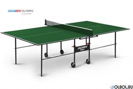 Стол для настольного тенниса Startline Olympic с сеткой GREEN 6021-2