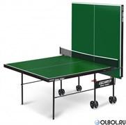 Стол для настольного тенниса Startline Game Indor с сеткой GREEN 6031-3