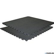 Буто-мат DFC ППЭ-2025. Размер 1х1 м. Цвет ) черный. Толщина 25 мм.