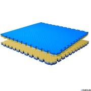 Буто-мат ППЭ-2040 (1 * 1) сине-желтый, 12284,  (1х1х0,40м)