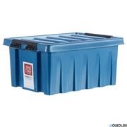 "Ящик пластиковый с крышкой ""RoxBox"" 16 л, 400х300х190см цвет синий"