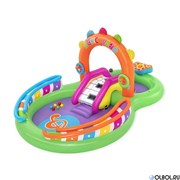 Игровой центр-бассейн с игрушками и шариками Sing Intex 53117 (295х190х137)