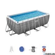 Прямоугольный каркасный бассейн  Bestway 56722
