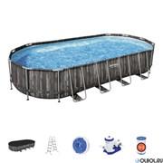 Каркасный бассейн на опорах Bestway 5611T +