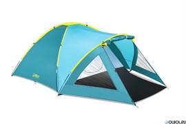 "Палатка 3-местная (210+140)x240x130см ""Activemount 3"""
