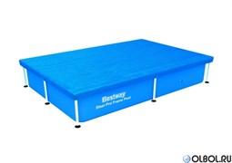 Тент для прямоугольных бассейнов 259х170см  BestWay 58105
