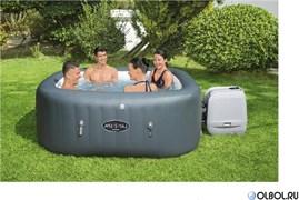 Надувной СПА бассейн джакузи Hawaii HydroJet Pro, BestWay 60031 (180х180х71см)
