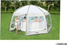 Купольный шатер для бассейнов 600х600х295см Bestway 58612