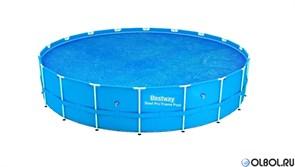 Тент солнечный прозрачный для бассейнов (549см)  BestWay 58173