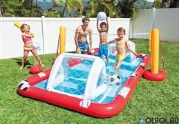 Игровой центр-бассейн Футбол Волейбол Intex 57147 (325х267х102)