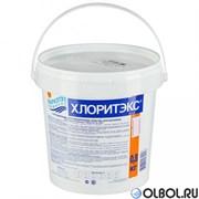 Хлоритэкс 0,8 кг.  таб. по 20 гр. (быстрая хлорная дезинфекция воды)