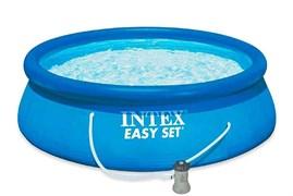 Надувной бассейн Intex 28118 +фильтр насос (305х61см)