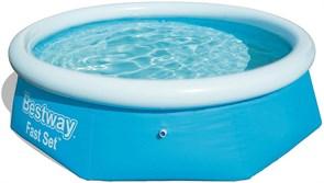 Круглый надувной бассейн Bestway 57265 (244х66)