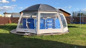 Купольный шатер (Павильон) для бассейнов Bestway 58612 600х600х295см