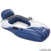 Шезлонг плавающий Intex 56862 163х104 см