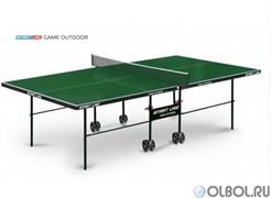 Теннисный стол START LINE Game OUTDOOR с сеткой GREEN 6034-1