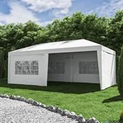 Павильон садовый 3x6 м цвет белый GK-001B-55
