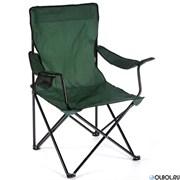 Кресло складное C-015 с подстаканником  52х52х85см