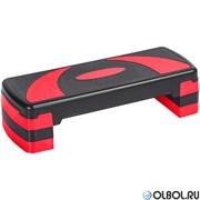 Степ доска 3-х уровневая (красный) HKST106-Y