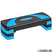 Степ доска 3-х уровневая (синий) HKST106-Z
