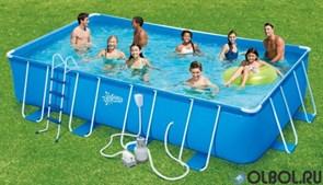 Каркасный бассейн прямоугольный Summer Escapes Р20-2052-S