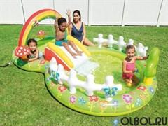Игровой центр-бассейн Мой сад Intex 57154  (290х180х104)