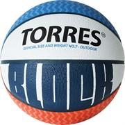 Мяч баскетбольный TORRES BLOCK, р.7 B02077