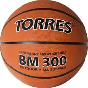 Мяч баскетбольный TORRES BM 300, р.7 B02017