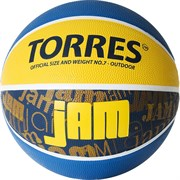 Мяч баскетбольный TORRES JAM, р.7 B02047