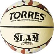 Мяч баскетбольный TORRES SLAM, р.7 B02067