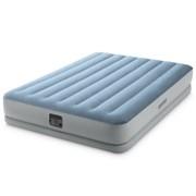 Надувная кровать двуспальная со встр.насосом Intex 64168 (152х203х36)