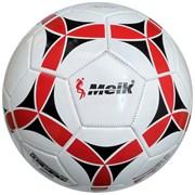"""Мяч футбольный """"Meik-2000"""" 3-слоя PVC 1.6, 300 гр, машинная сшивка R18018"""