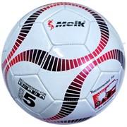 """Мяч футбольный """"Meik-2000"""" 3-слоя PVC 1.6, 300 гр, машинная сшивка R18020"""