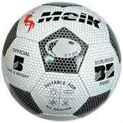 """Мяч футбольный """"Meik-3009"""" 3-слоя PVC 1.6, 300 гр, машинная сшивка R18023"""