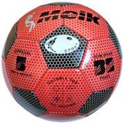 """Мяч футбольный """"Meik-3009"""" 3-слоя PVC 1.6, 300 гр, машинная сшивка R18025"""