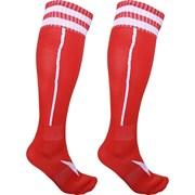 Гетры футбольные (красные) р.SR (взрослые) для экипировки спортивных команд C33710