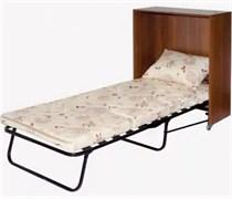Раскладушка кровать-тумба Карина (190x80x38) орех