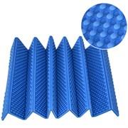 Коврик туристический складной Каремат 180х60см 15мм в чехле (синий) Magnum B34488