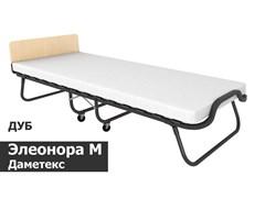 Раскладушка Даметекс Элеонора-М с матрасом  (200x90x43см) Дуб