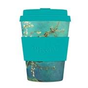 Кофейный эко-стакан 350 мл Ван Гог Цветущий миндаль